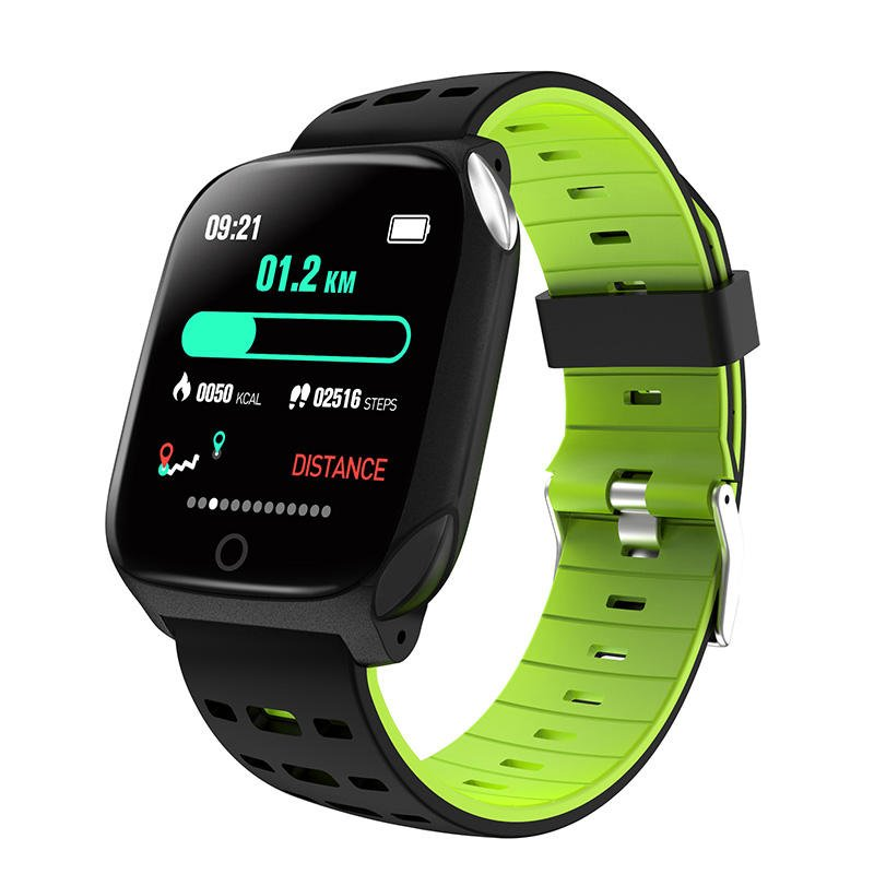 Bakeey smartwatch F16 ECG PPG Smart Watch heart rate blood pressure oxygen monitor (18)