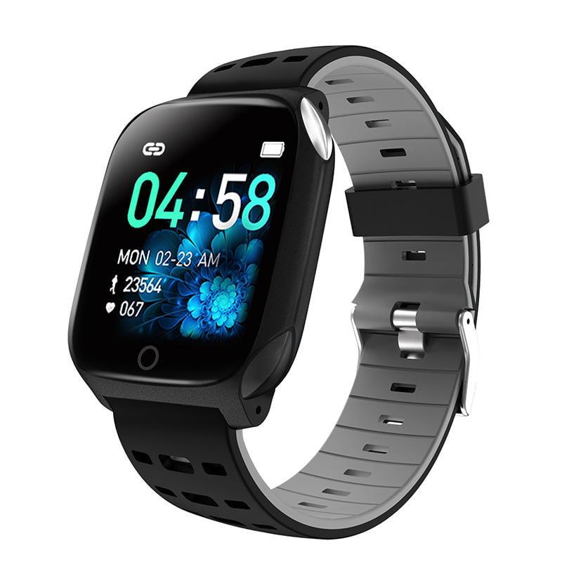 Bakeey smartwatch F16 ECG PPG Smart Watch heart rate blood pressure oxygen monitor (19)
