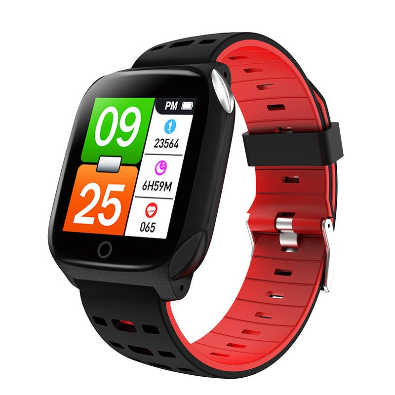 Bakeey smartwatch F16 ECG PPG Smart Watch heart rate blood pressure oxygen monitor (21)