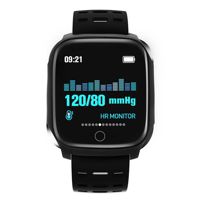 Bakeey smartwatch F16 ECG PPG Smart Watch heart rate blood pressure oxygen monitor (23)