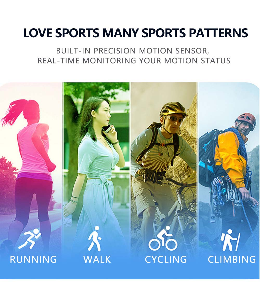 F16 ECG PPG Smart Watch heart rate blood pressure oxygen monitor (7)
