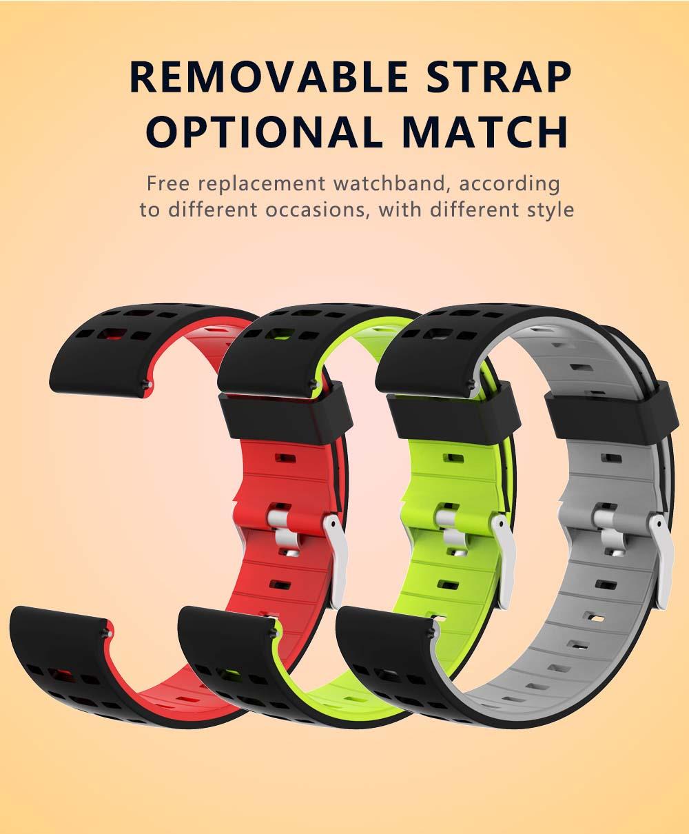 F16 Smartwatch ECG PPG Smart Watch heart rate blood pressure oxygen monitor (9)