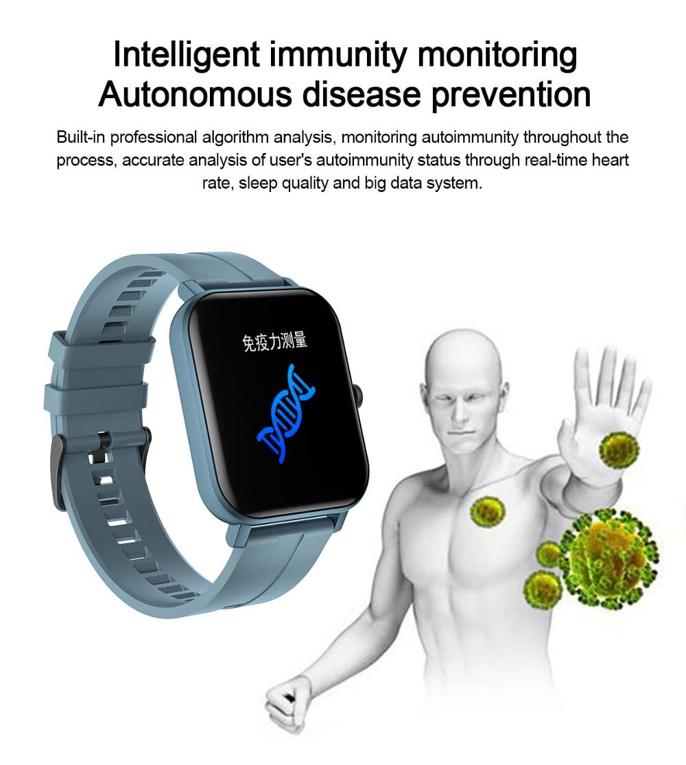 F22 Smart Watch 1.4inch wristband body temperature heart rate (16)