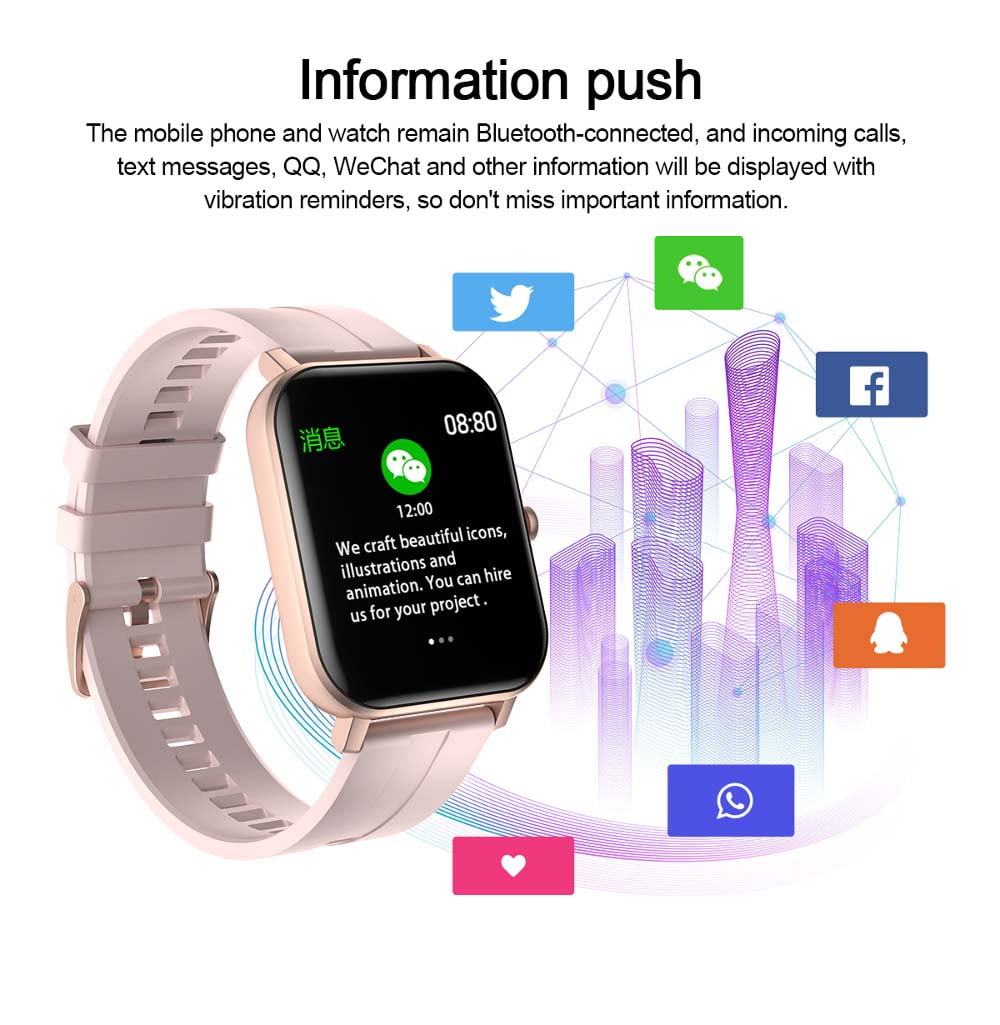 F22 Smart Watch 1.4inch wristband body temperature heart rate (30)