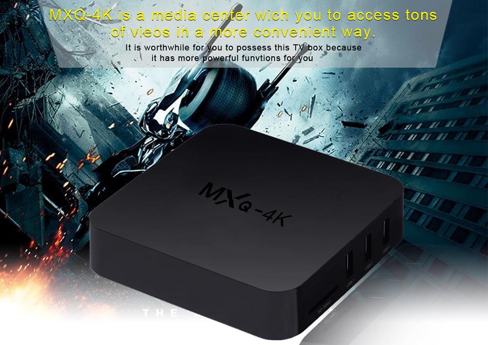 Firefly IV522 MXQ 4K android tv box quad core cortex a53 2 0ghz 1gb 8gb wifi hd 4k player 9