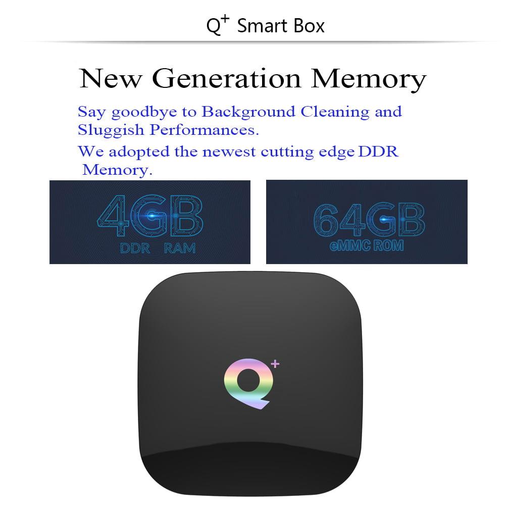 Firefly Q Plus Android Smart TV Box 64G EMMC Q plus 64bit Quad H6 2Ghz 4G DDR3 64G flash Android