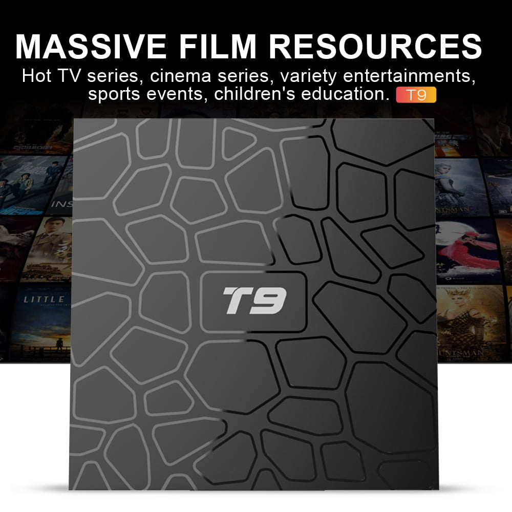 Firefly T9 Android Smart TV Box RK3318 Quad core cortex A53 4G DDR3 32G flash Android 9 12