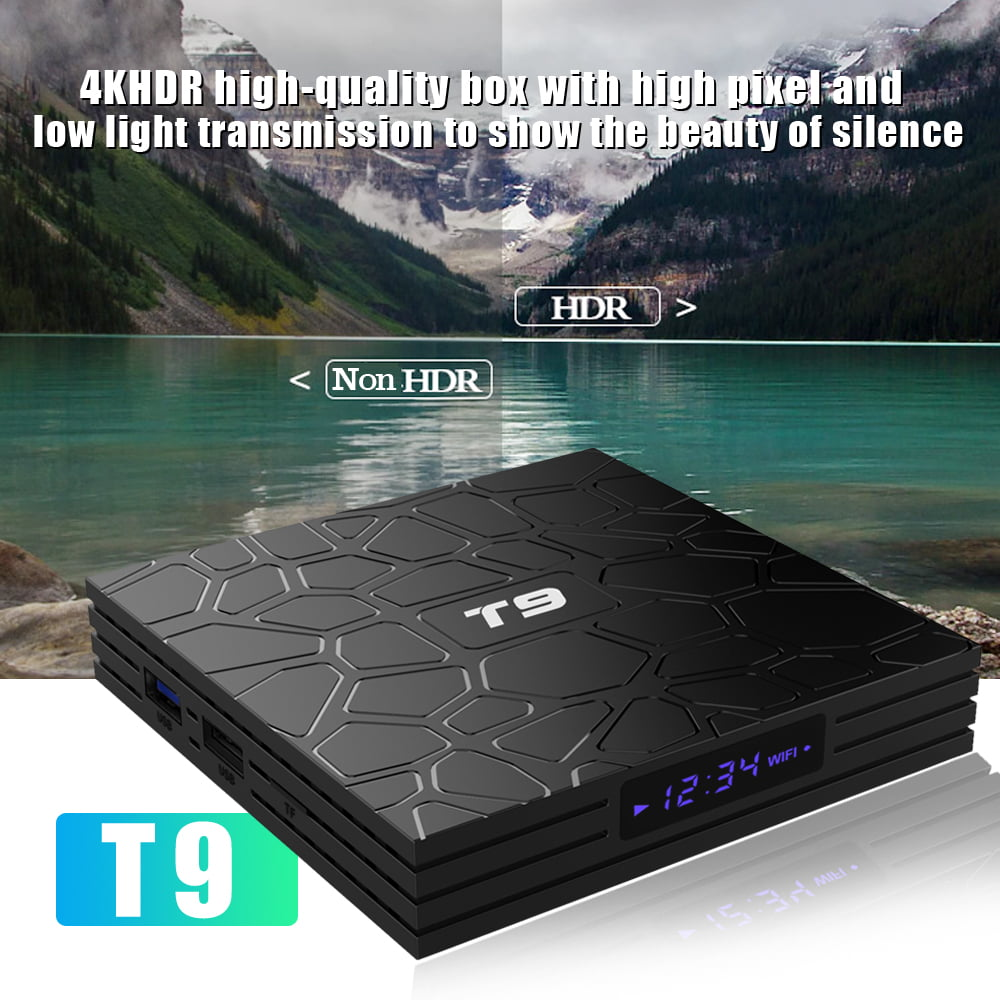 Firefly T9 Android Smart TV Box RK3318 Quad core cortex A53 4G DDR3 32G flash Android 9 14