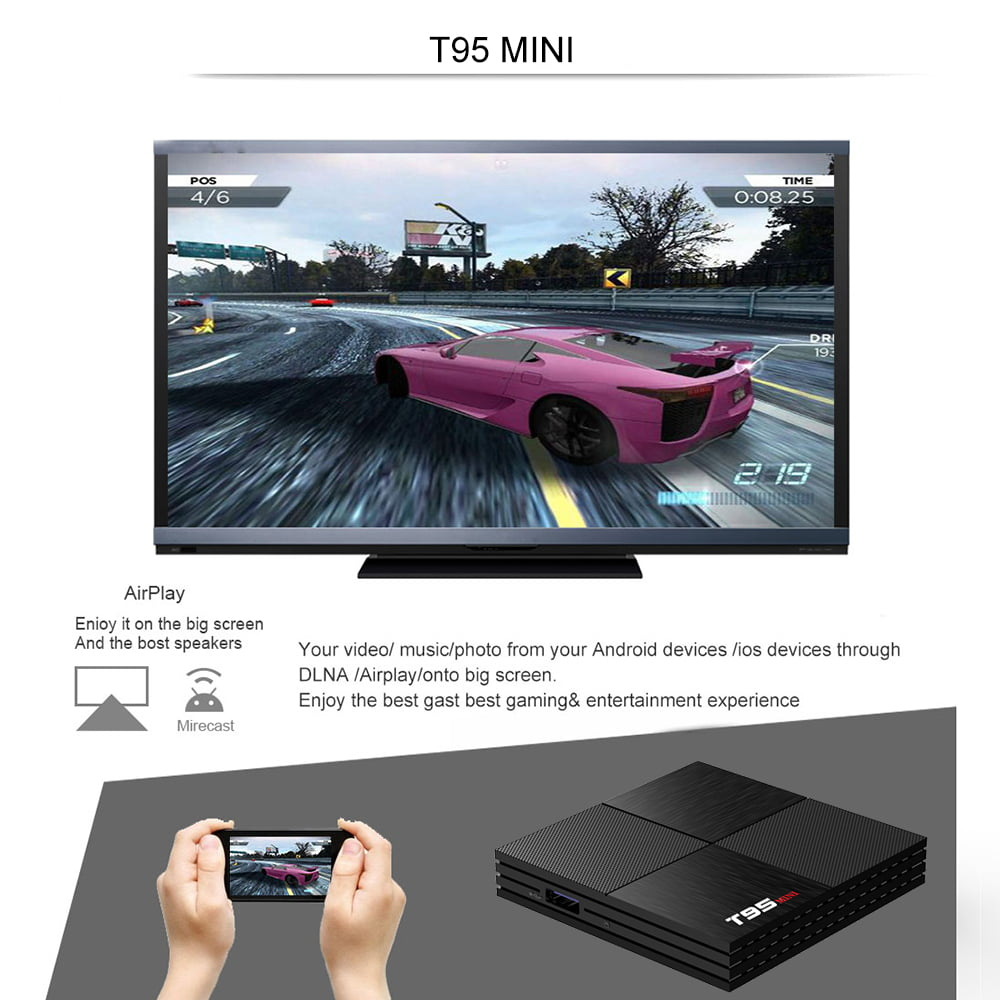 Firefly T95 MINI Android Smart TV Box H6 Quad core cortex A53 2G DDR3 16G flash Android 9.0 OS 22
