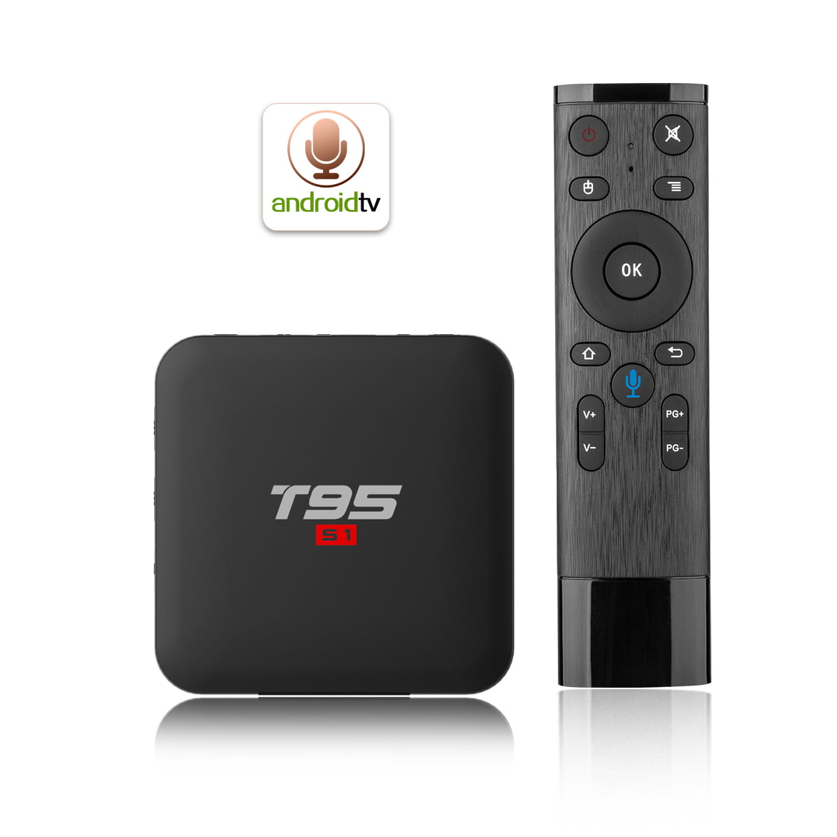 Firefly T95 S1 Android Smart TV Box 64bit Quad H6 2Ghz 2G DDR3 16G flash Android 7.1 7