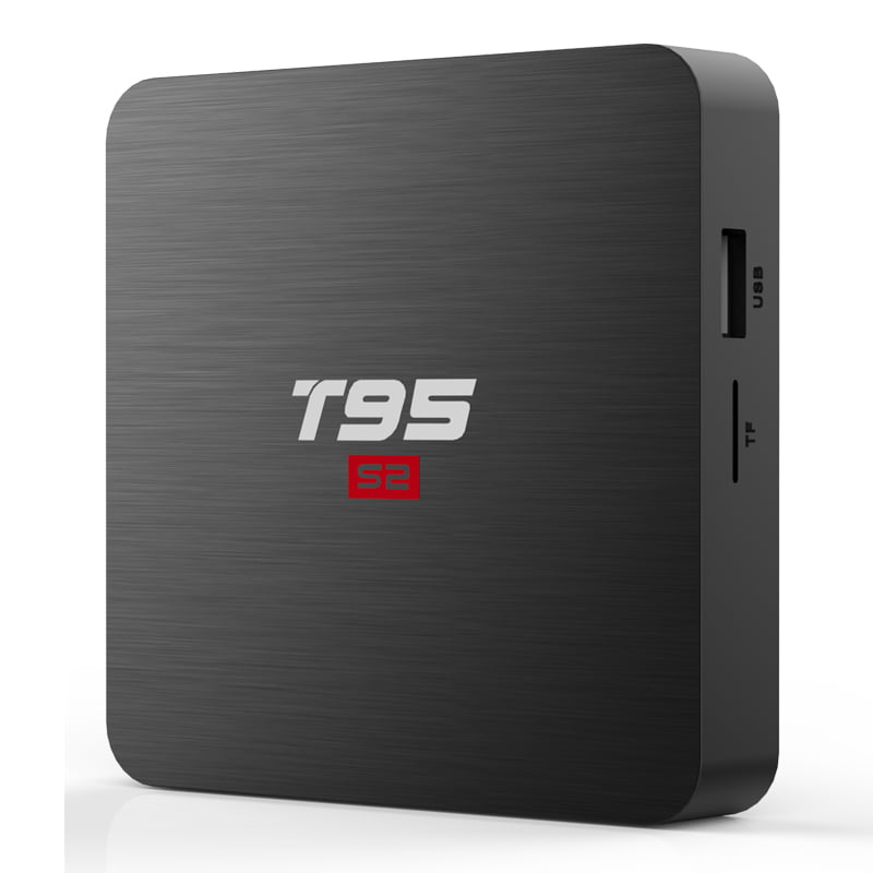 Firefly T95 S2 Android Smart TV Box S905W64bit Quad Core 2Ghz 2G DDR3 16G flash Android 7.1