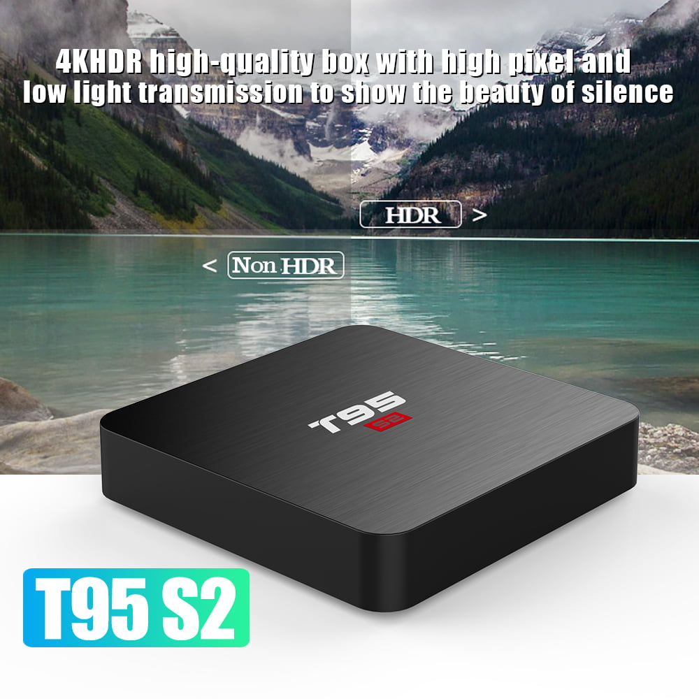 Firefly T95 S2 Android Smart TV Box S905W64bit Quad Core 2Ghz 2G DDR3 16G flash Android 7.1 9