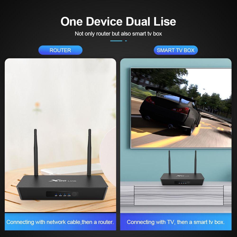 Firefly X96 Link Amlogic S905W 2GB RAM 16GB ROM TV Box With Wifi Router (5)