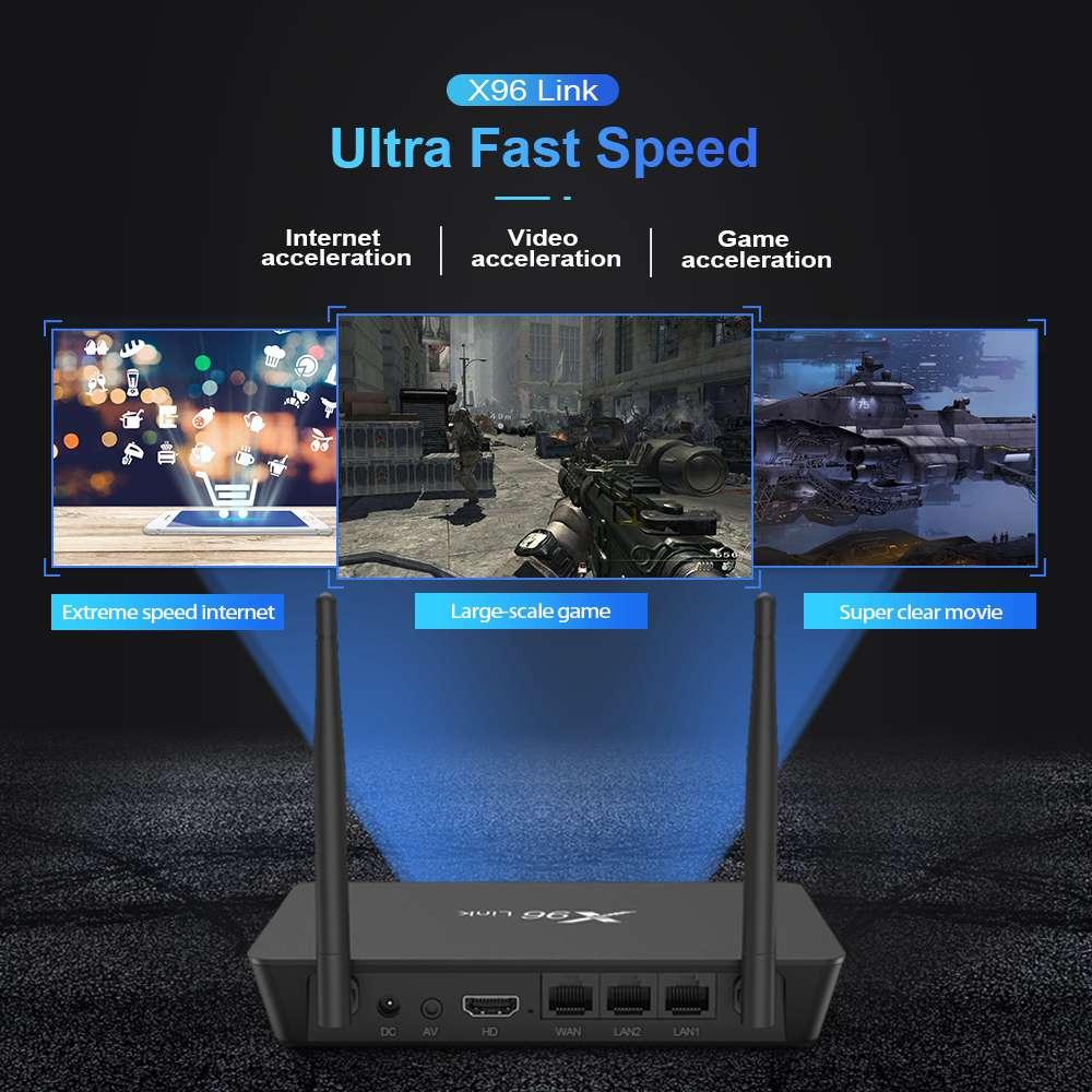 Firefly X96 Link Amlogic S905W 2GB RAM 16GB ROM TV Box With Wifi Router (7)