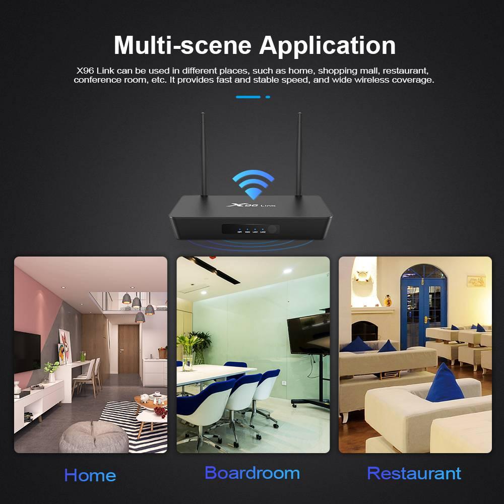 Firefly X96 Link Amlogic S905W 2GB RAM 16GB ROM TV Box With Wifi Router (8)