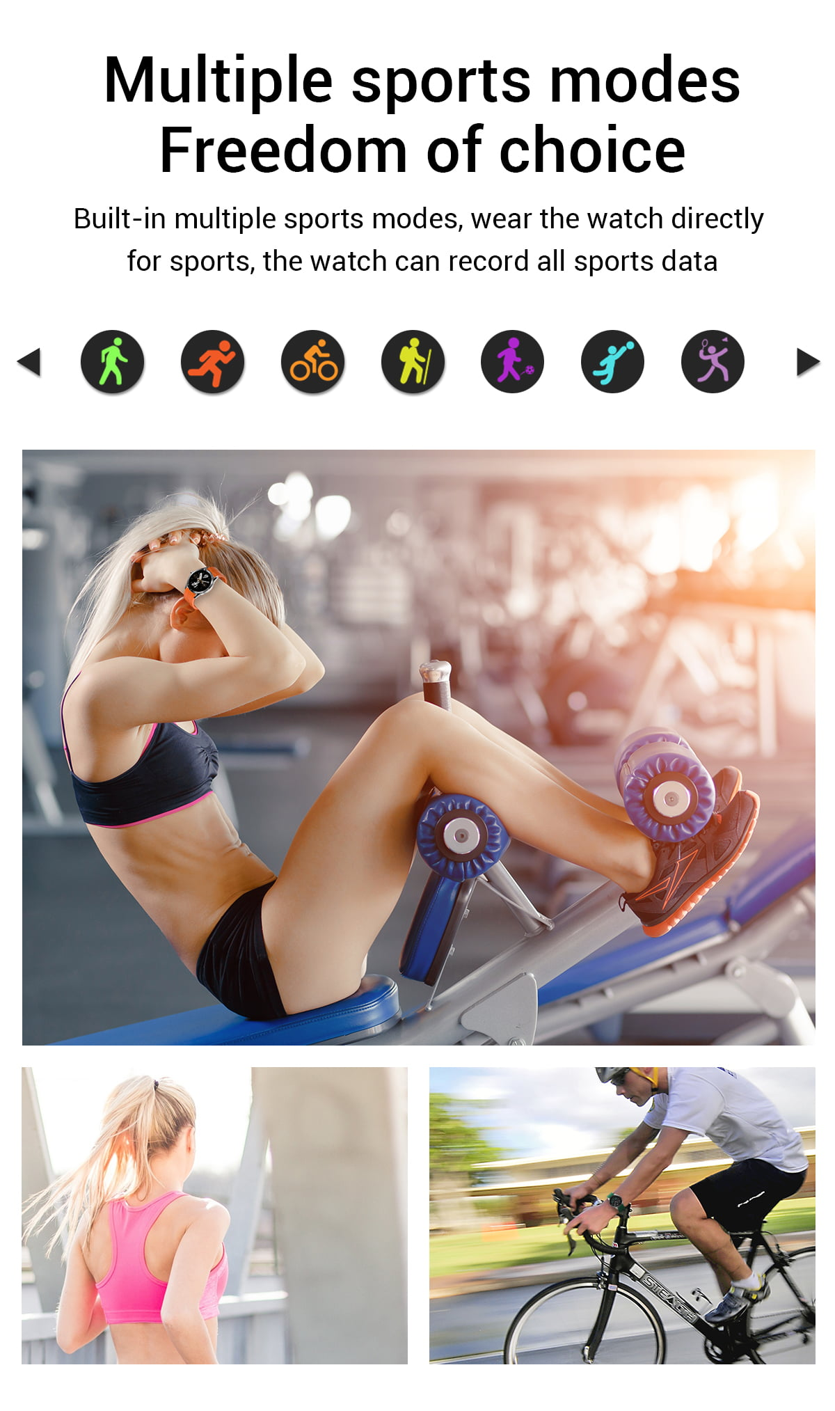 G20 Smart Watch heart rate blood pressure monitor ip67 smart watch wholesale (10)