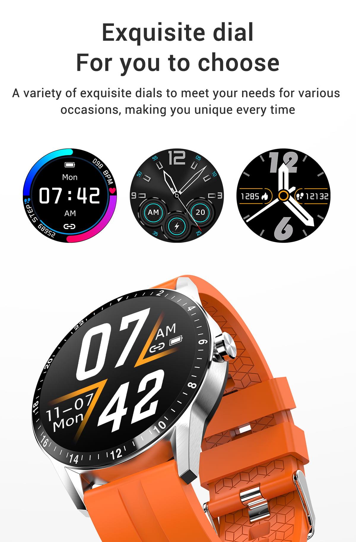 G20 Smart Watch heart rate blood pressure monitor ip67 smart watch wholesale (11)