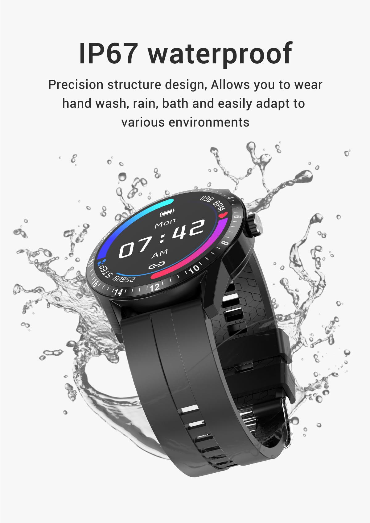 G20 Smart Watch heart rate blood pressure monitor ip67 smart watch wholesale (13)
