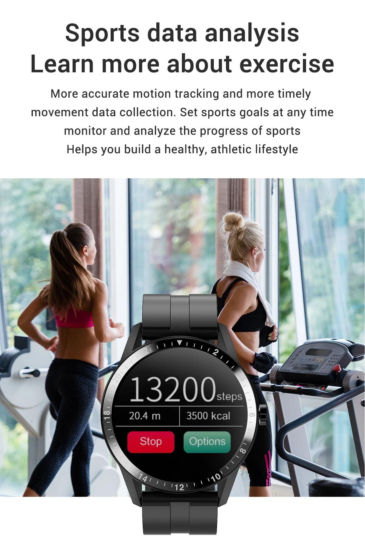 G20 Smart Watch heart rate blood pressure monitor ip67 smart watch wholesale (15)