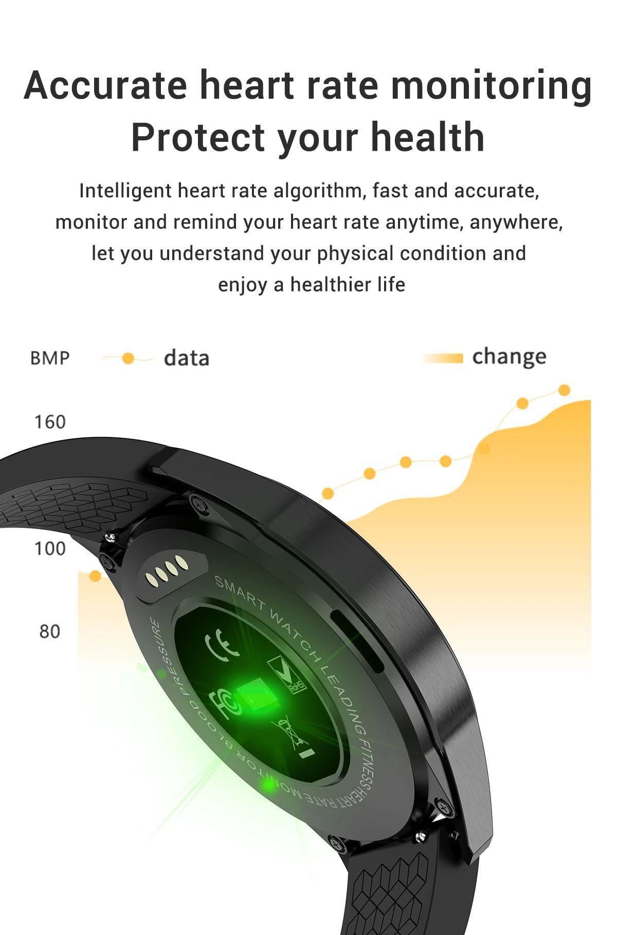 G20 Smart Watch heart rate blood pressure monitor ip67 smart watch wholesale (18)