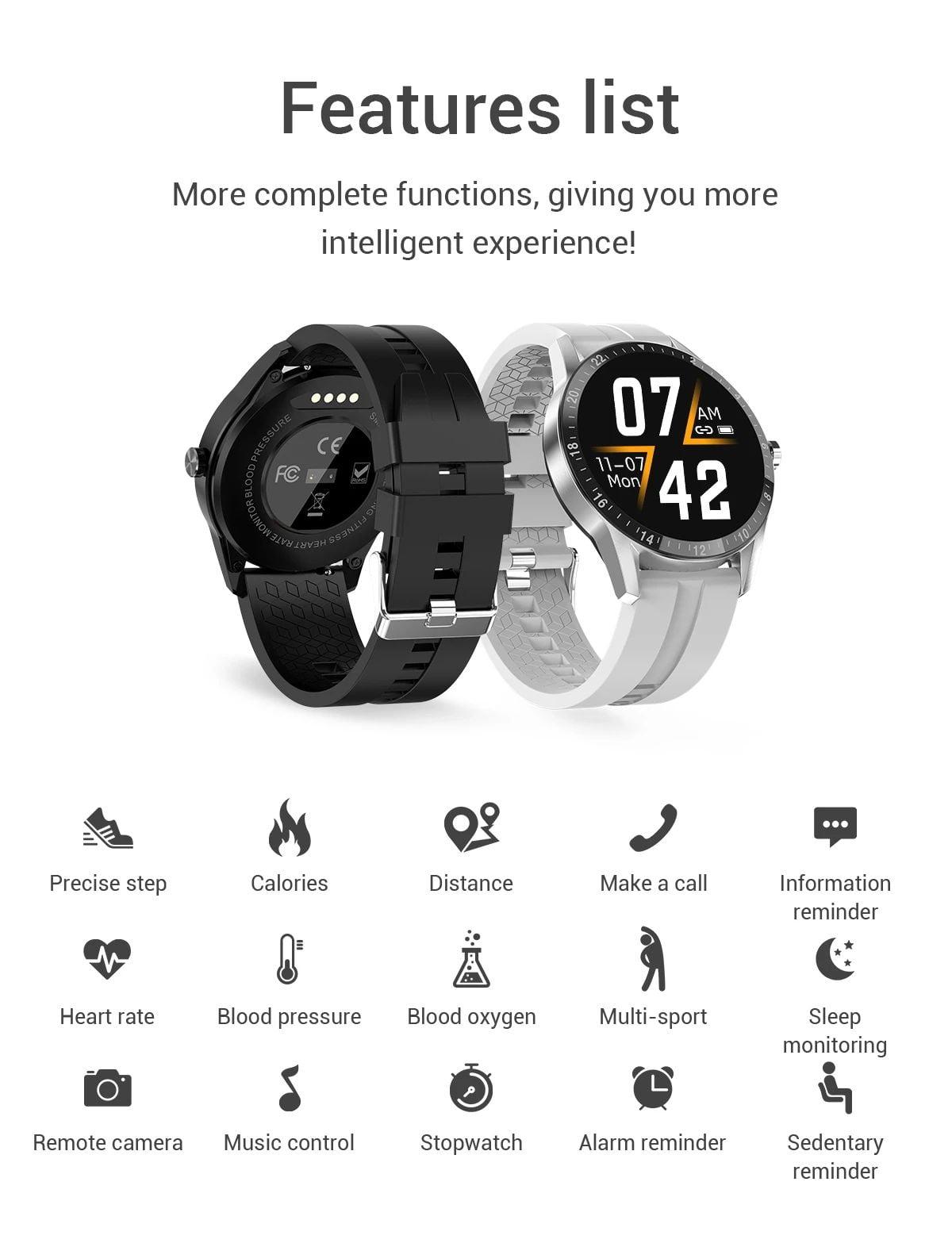 G20 Smart Watch heart rate blood pressure monitor ip67 smart watch wholesale (6)