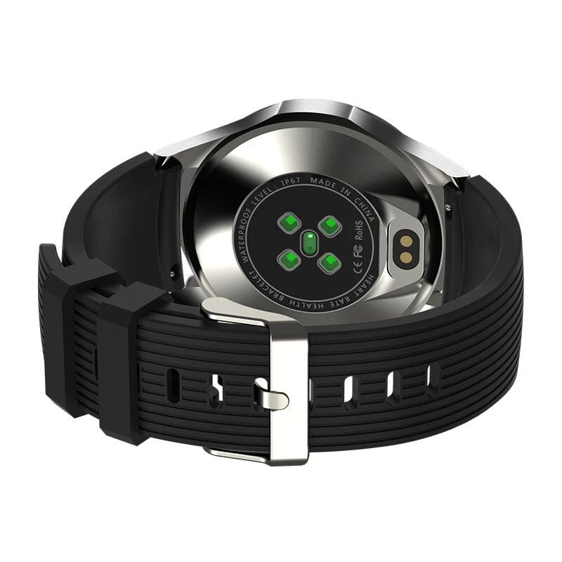 Bakeey smartwatch GT106 full touch screen always on display heart rate blood pressure (2)