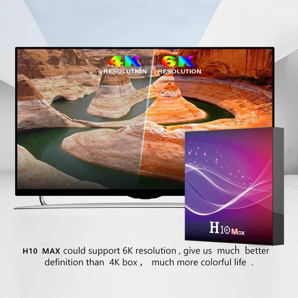 H10 MAX Allwinner H616 4GB RAM 32GB ROM Android 10 Smart TV Box (6)