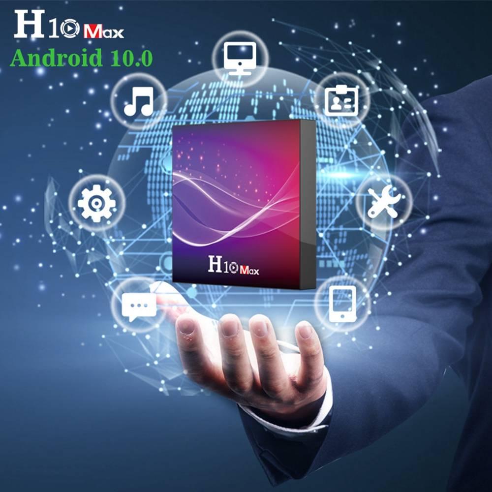 H10 MAX Allwinner H616 4GB RAM 32GB ROM Android 10 Smart TV Box (7)