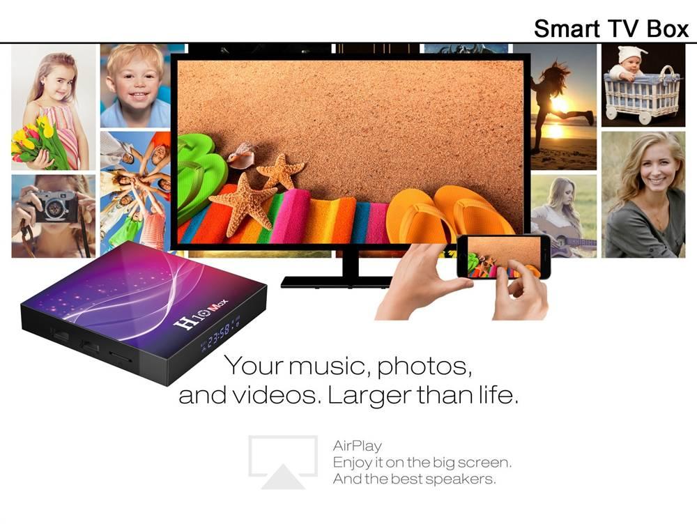 H10 MAX Allwinner H616 4GB RAM 32GB ROM Android 10 Smart TV Box (8)