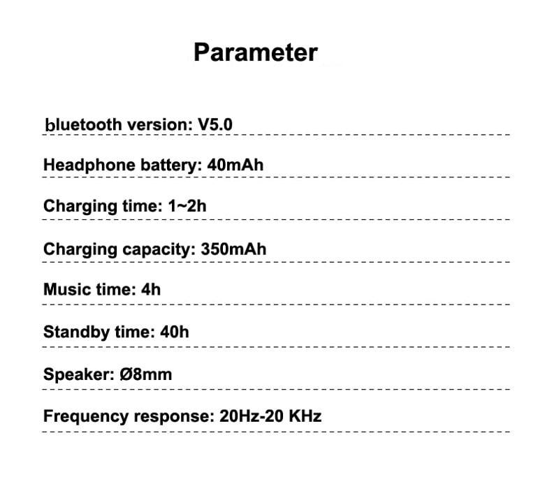 H17T TWS wireless stereo bluetooth 5.0 earphone hi-fi headphones (11)