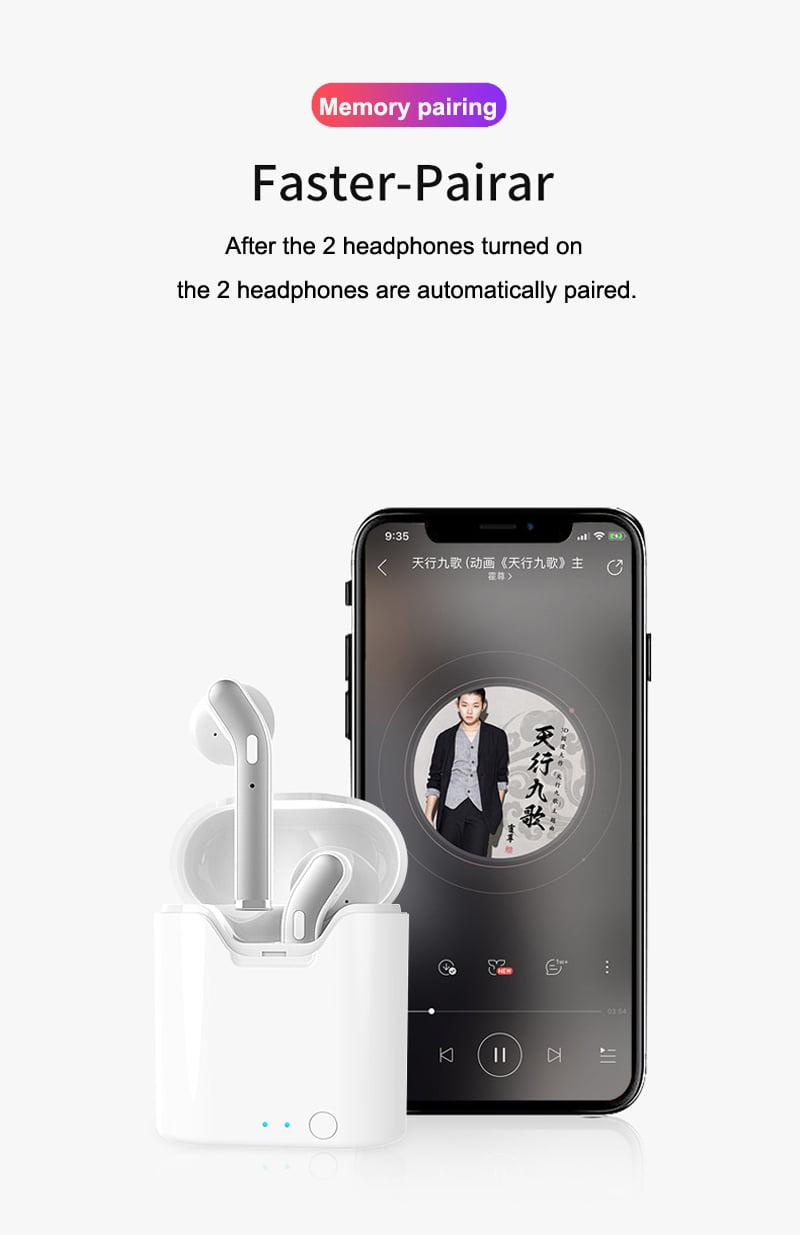 H17T TWS wireless stereo bluetooth 5.0 earphone hi-fi headphones (4)