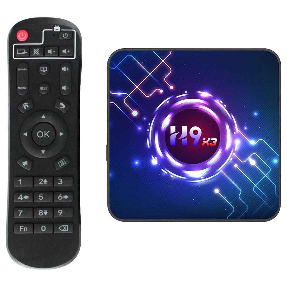 H9 X3 Amlogic S905x3 4GB RAM 32GB ROM Android 9.0 8K SMART TV Box (10)