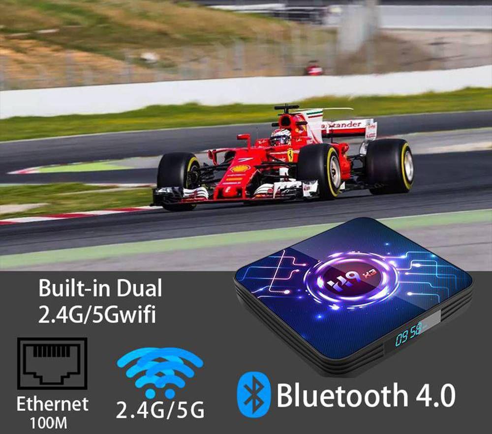 H9 X3 Amlogic S905x3 4GB RAM 32GB ROM Android 9.0 8K TV Box (1)