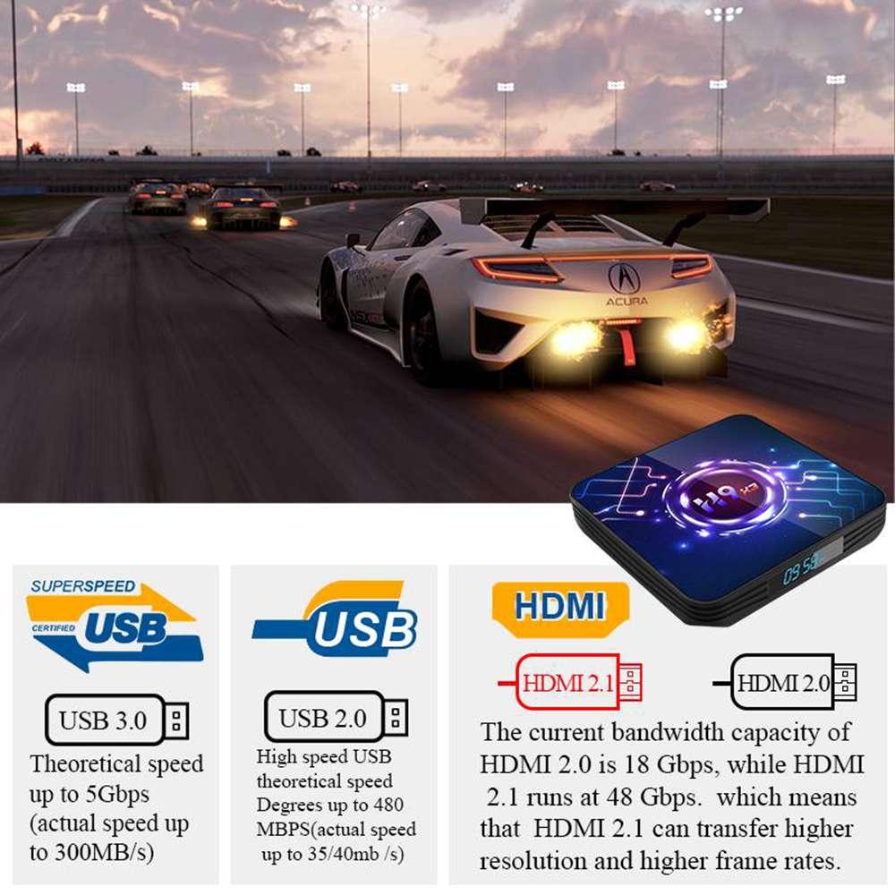 H9 X3 Amlogic S905x3 4GB RAM 32GB ROM Android 9.0 8K TV Box (7)