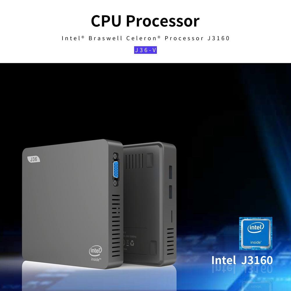 J36V Intel Celeron J3160 Windows10 SSD SATA Mini PC (12)