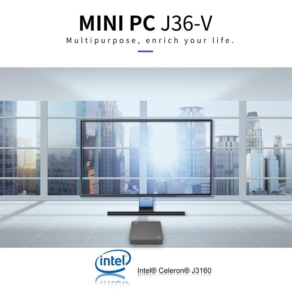 J36V Intel Celeron J3160 Windows10 SSD SATA Mini PC (13)