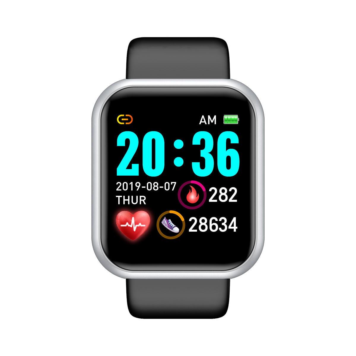 Bakeey smartwatch L18 heart rate blood pressure oxygen monitor (1)
