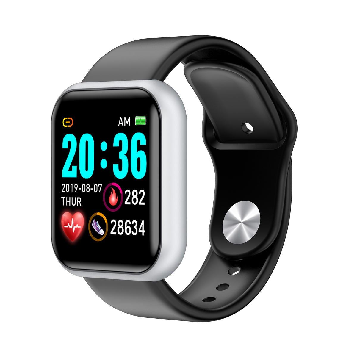 Bakeey smartwatch L18 heart rate blood pressure oxygen monitor (10)