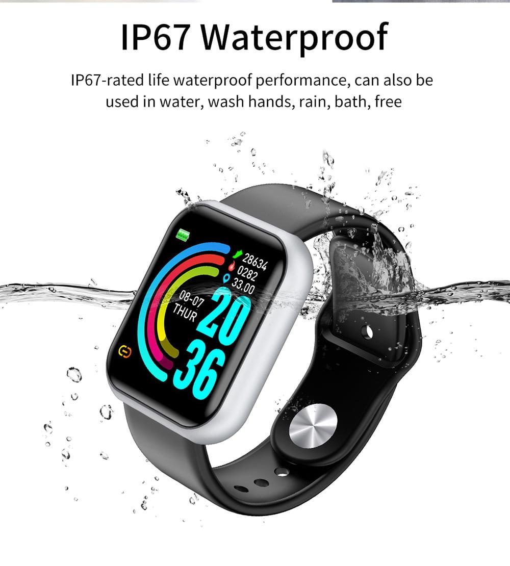 L18 SmartWatch heart rate blood pressure oxygen monitor (11)