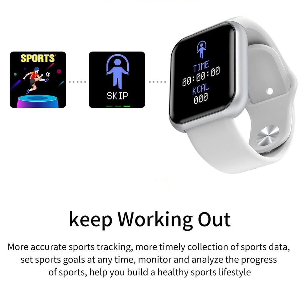 L18 Smart Watch heart rate blood pressure oxygen monitor (17)