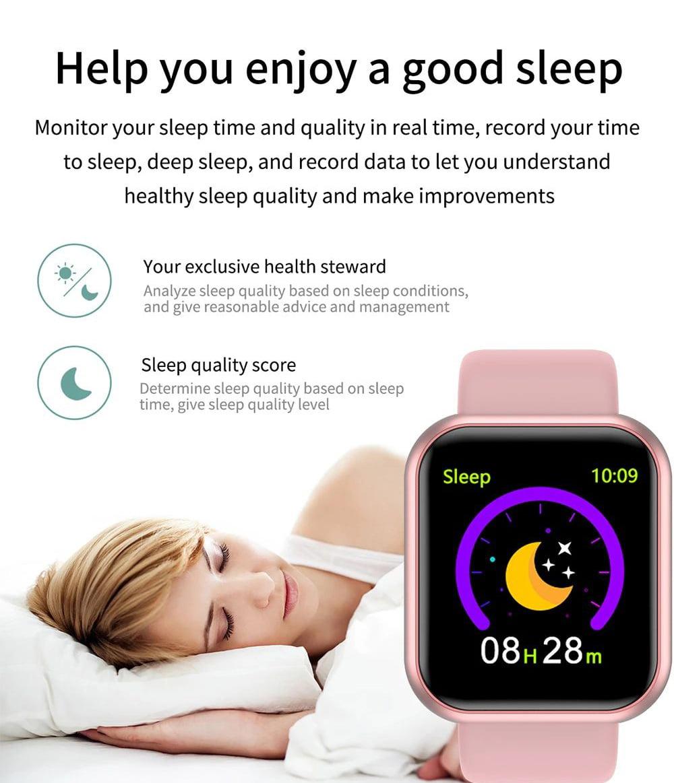 L18 SmartWatch heart rate blood pressure oxygen monitor (19)