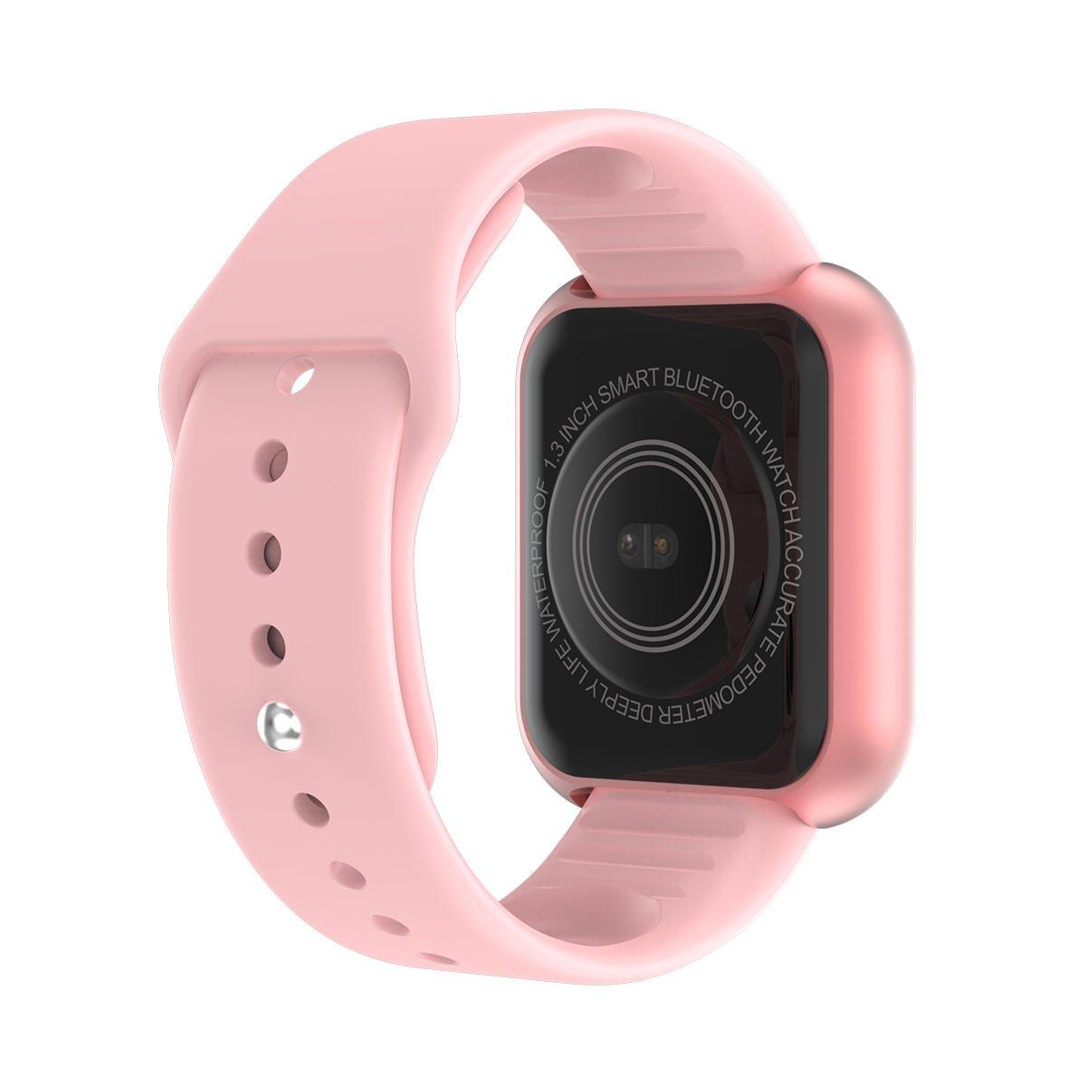 Bakeey smartwatch L18 heart rate blood pressure oxygen monitor (23)