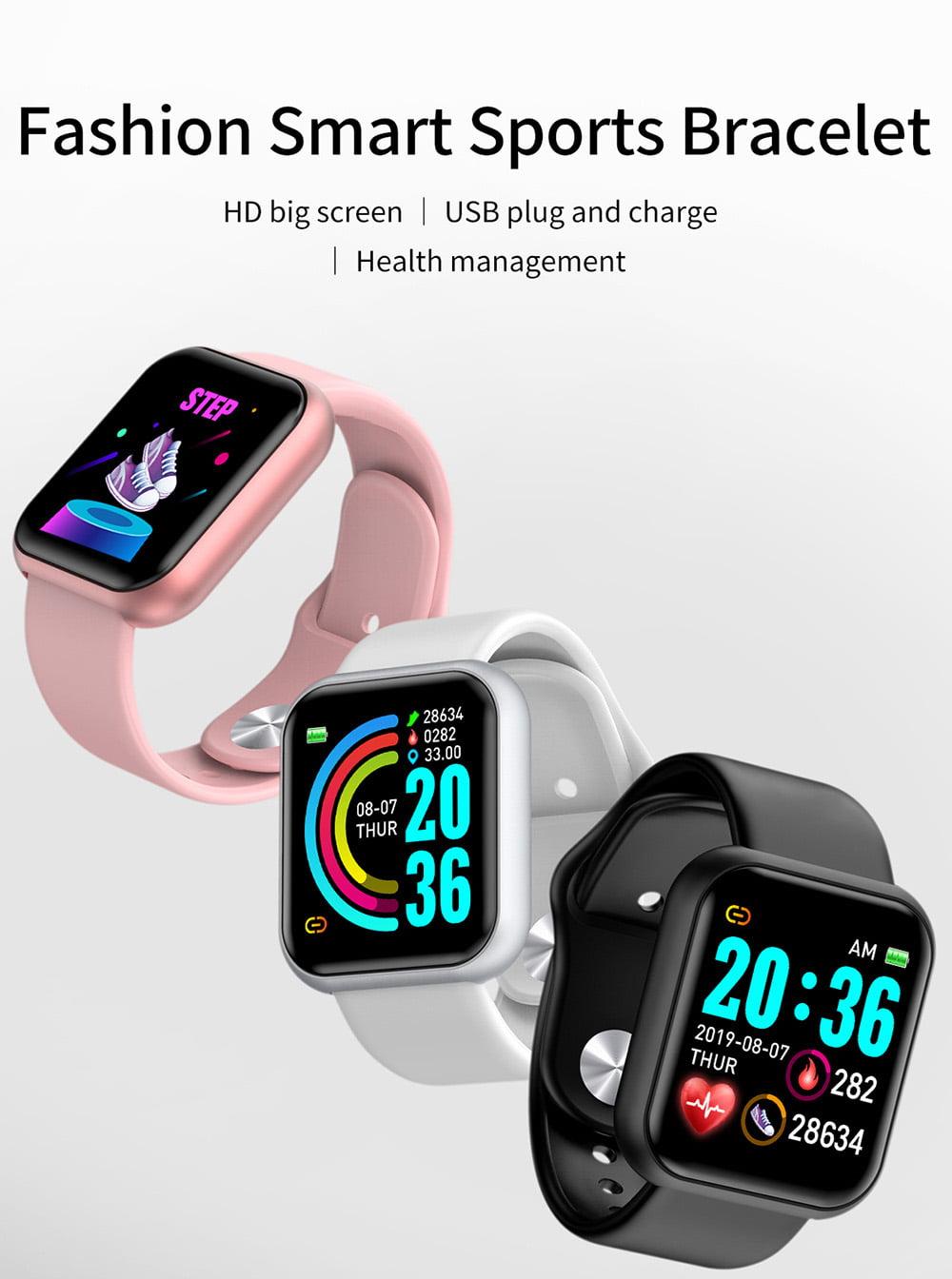 L18 SmartWatch heart rate blood pressure oxygen monitor (3)