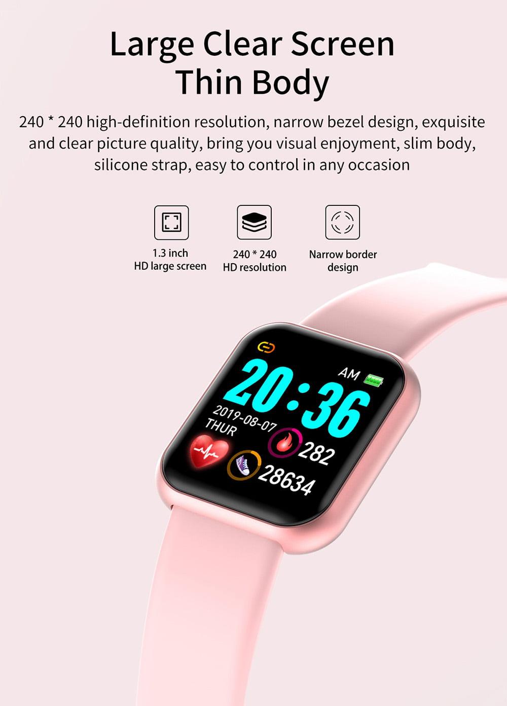 L18 Smart Watch heart rate blood pressure oxygen monitor (4)