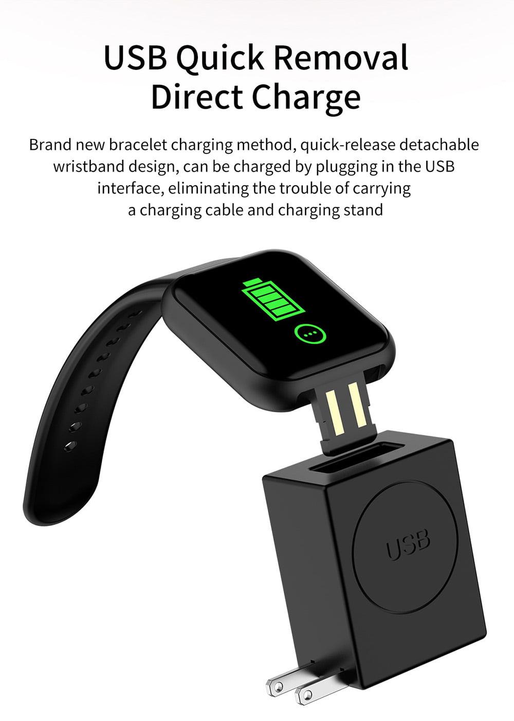 L18 Smart Watch heart rate blood pressure oxygen monitor (5)