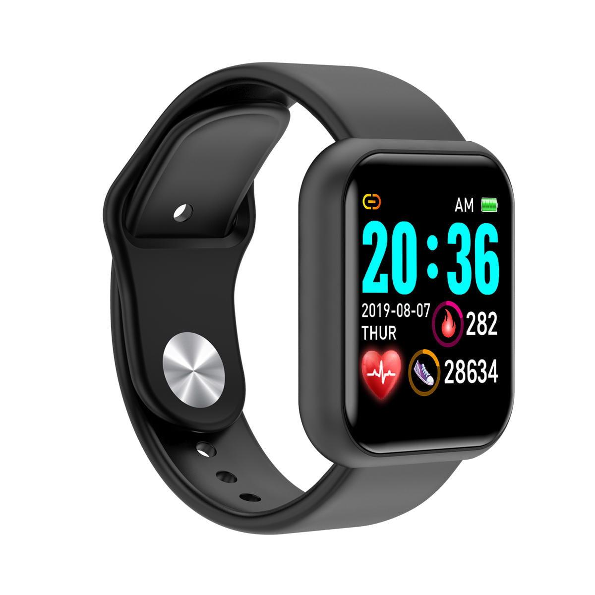 Bakeey smartwatch L18 heart rate blood pressure oxygen monitor (7)