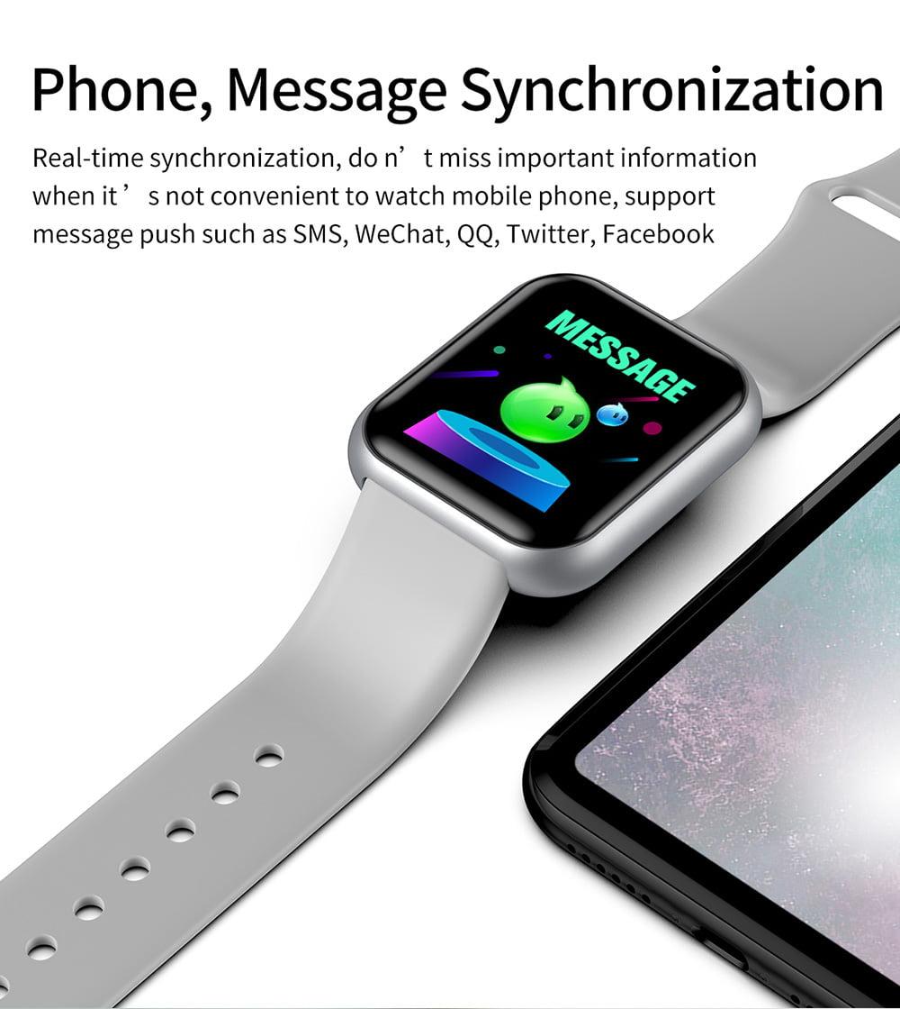 L18 Smart Watch heart rate blood pressure oxygen monitor (8)