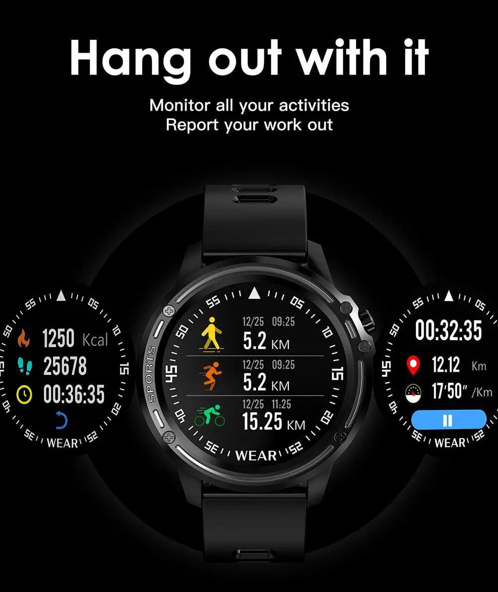 L8 Smart Watch ecg ppg heart rate blood press (18)
