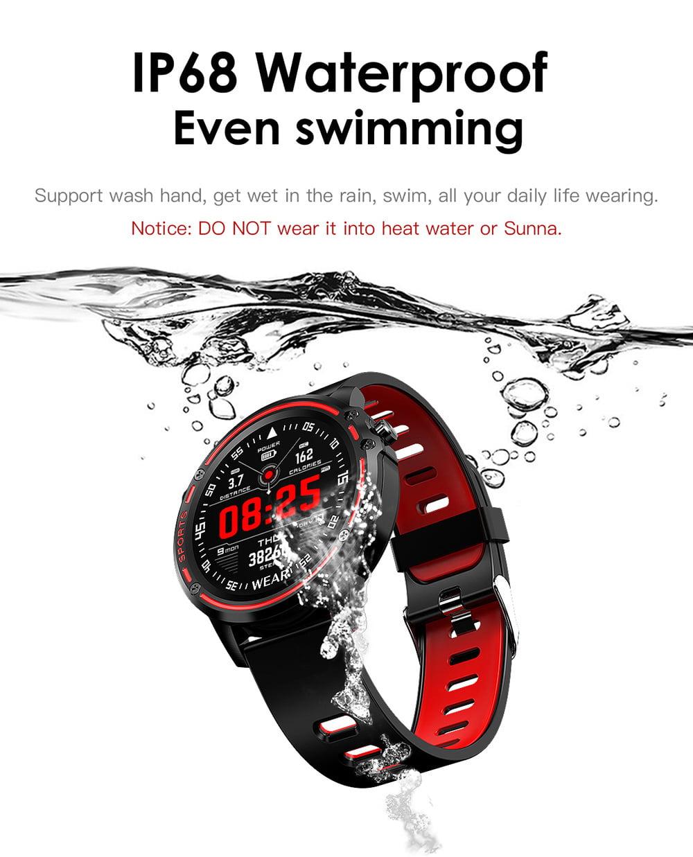 L8 Smart Watch ecg ppg heart rate blood press (19)