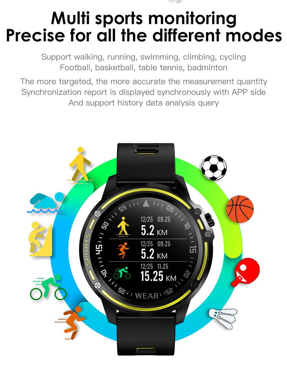 L8 Smart Watch ecg ppg heart rate blood press (20)